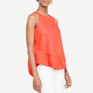 Ann Taylor Women's Size M petite Blouse Top Sleeve